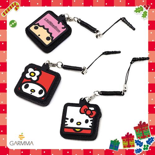 GARMMA KT 觸控筆 防塵塞 手機吊飾 飾品 包包裝飾 雙子星 美樂蒂 Hello Kitty