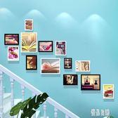 樓梯照片墻相框墻掛墻創意組合樓道走廊背景墻墻面裝飾墻壁相片框zh1289【優品良鋪】