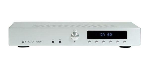靜態展示福利品 9成5新《名展影音》Micromega IA60 綜合擴大機 銀色款 可搭配系列 CD唱盤