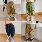 兒童工裝褲男童秋裝2020新款褲子寶寶洋氣束腳休閒褲韓版寬鬆長褲 設計師生活百貨