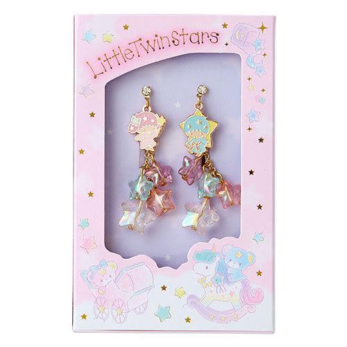 【震撼精品百貨】Little Twin Stars KiKi&LaLa 雙子星小天使~雙星仙子幻彩玩具箱系列穿式耳環