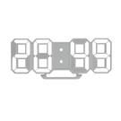 【奇奇文具】KINYO 立體LED數字鐘(白光)TD395