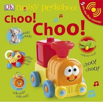 【麥克書店】NOISY PEEKABOO: CHOO! CHOO! /聲音書
