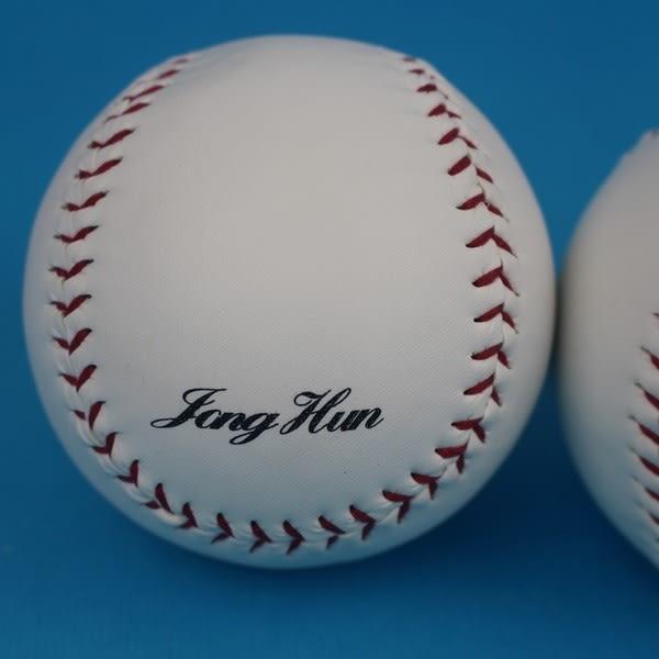 慢速壘球 PVC縫線大壘球(一般白色)/一個入{定120} 大壘球~群DF-2120