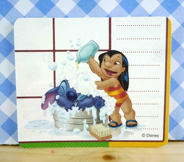 【震撼精品百貨】Stitch_星際寶貝史迪奇~卡片-洗澡