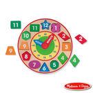 《 美國 Melissa & Doug 》經典玩具系列 - 形狀積木時鐘