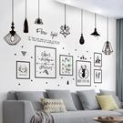3D立體墻貼畫臥室客廳沙發背景墻裝飾墻壁...