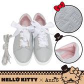 🎀附緞帶🎀 HELLO KITTY X Ann'S達利2way蝴蝶結真皮休閒鞋-灰