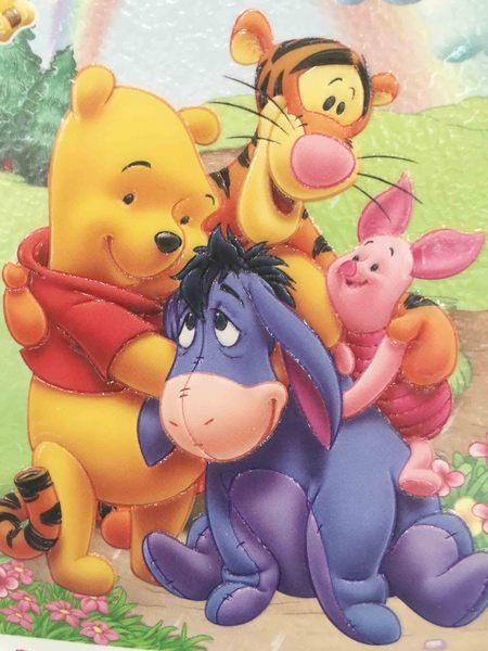 【震撼精品百貨】Winnie the Pooh 小熊維尼~多功能雙面貼