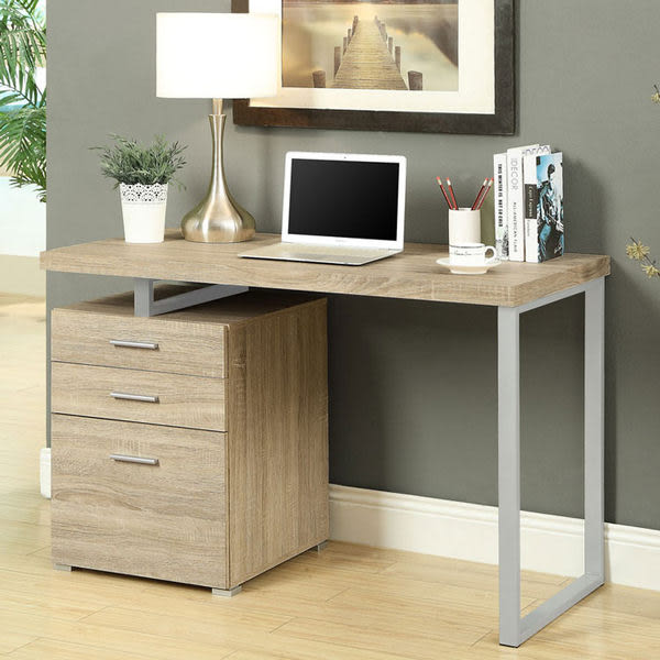 #免運/COMDESK摩登電腦書桌 (淺木色) &DIY組合傢俱 [簡單樂活]