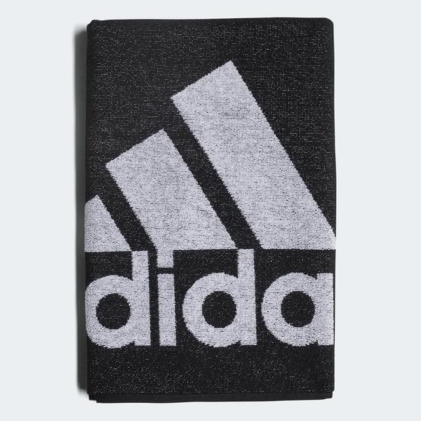 Adidas Towel S 50×100cm [DH2860] 毛巾 運動 健身 吸水 吸汗 舒適 快乾 黑白 小