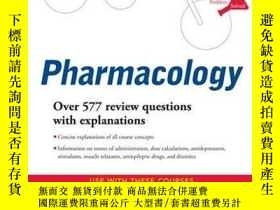 二手書博民逛書店罕見Schaum s Outline of Pharmacolo