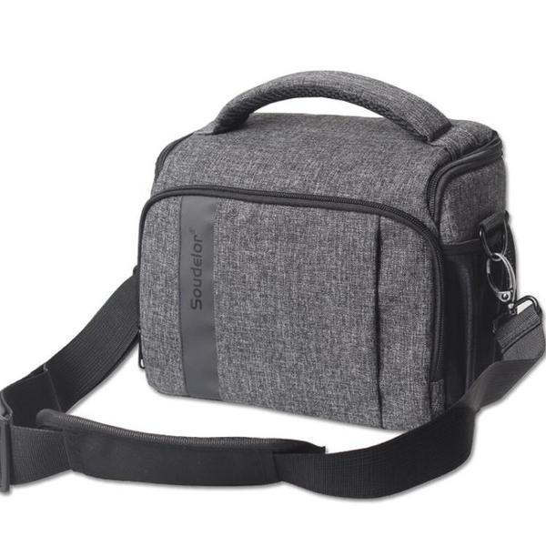 攝影包 單反包斜背佳能相機包女包d800D200D750D6D270D80D77D攝影包文藝 城市科技