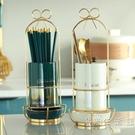 高顏值筷子置物架收納盒瀝水筷子籠家用筷子筒廚房筷子勺子收納架 小時光生活館