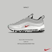 IMPACT Nike Air Max 97 OG Silver Bullet 銀彈 3M反光 大童鞋 918890-001