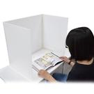 紙博館 DIY防疫隔板套組(附PVC布紋膠帶2捲+魔鬼氈12包)台灣製 24組 /套 AEP-01