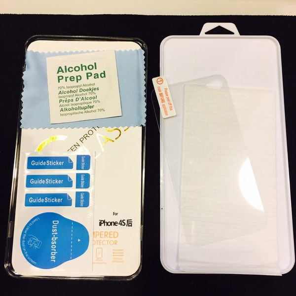 Iphone4/4s 鋼化玻璃膜 背膜 玻璃膜 保護貼 9H強化玻璃 防爆膜 手機保護貼 I4