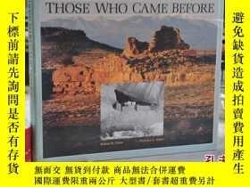 二手書博民逛書店1983年,原版古生物圖書,THOSE罕見WHO CAME BE