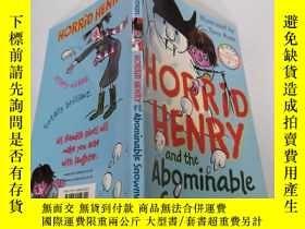 二手書博民逛書店horrid罕見henry and the abominable snowman: 可怕的亨利和可惡的雪人.Y