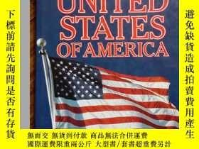 二手書博民逛書店THE罕見UNITED STATES OF AMERICA (