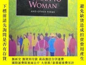 二手書博民逛書店WOMAN罕見TO WOMAN AND OTHER POEMS(