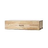 ~88 元折價券倒數1 天~SOHO 橡膠木單抽櫃 工場