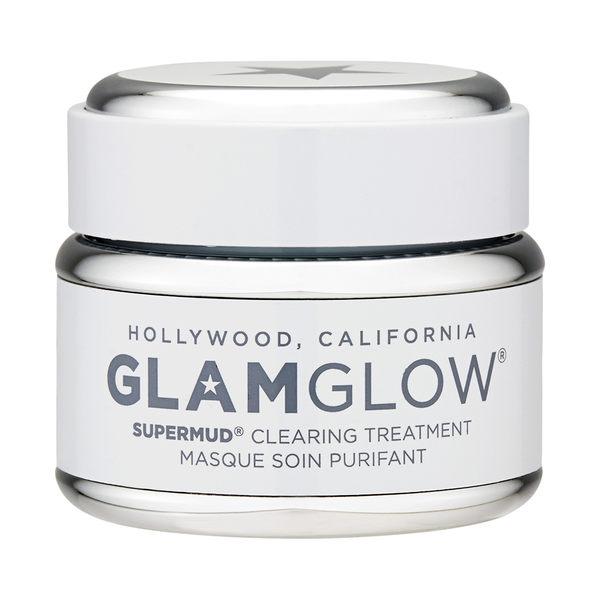 GlamGlow SuperMud 白罐潔淨面膜1.7oz, 50g (增量裝上市)
