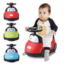 【奇買親子購物網】baby hood 小汽車座便器(紅色/綠色/藍色)
