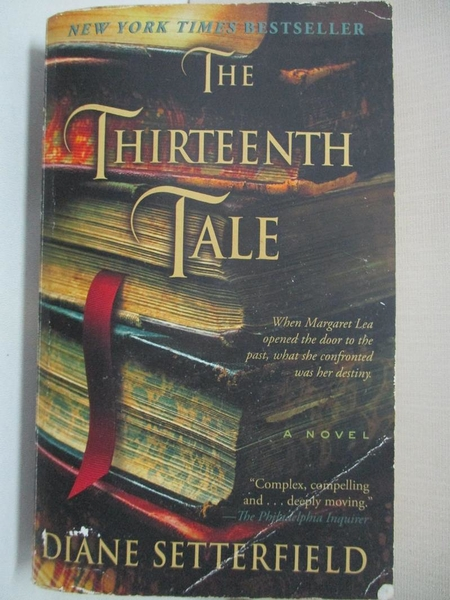 【書寶二手書T1/原文小說_A1I】The Thirteenth Tale_Setterfield, Diane
