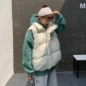 秋冬韓版新款寬鬆大版加厚保暖面包服馬甲學生棉服外套女ins 雅楓居