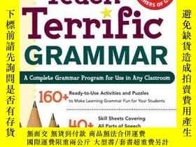 二手書博民逛書店Teach罕見Terrific Grammar, Grades 4-5Y255562 Gary Robert