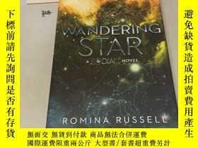 二手書博民逛書店英文版罕見《遊星》 Wandering StarY182979