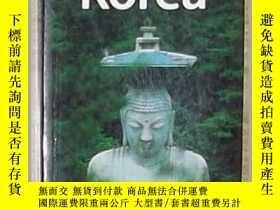 二手書博民逛書店英文原版罕見Lonely Planet Korea by And