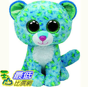 [103美國直購] Ty 毛絨玩具 Ty Beanie Boos Leona Blue Leopard Regular Plush $441
