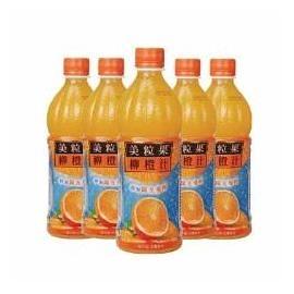 【免運直送】美粒果柳橙汁450ml-24瓶/箱【合迷雅好物超級商城】