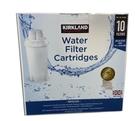 [2美國直購] 英國製 8周濾心10入 Kirkland Water Filter 10-pack set (適用於Brita 等系列圓形濾水壺)