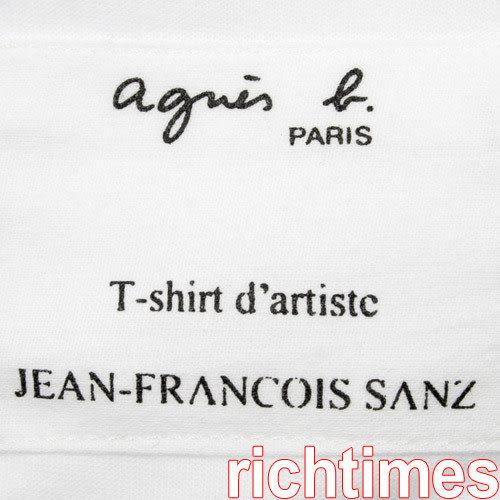 agnes b. 暢飲圓領T恤AB399236