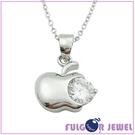 【Fulgor Jewel】項鍊 母親節禮品 925純銀項鍊 平蘋安安