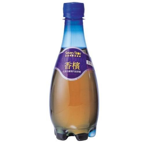 七星白葡萄氣泡香檳370ml【愛買】