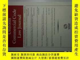 二手書博民逛書店UNIFORM罕見COMMERCIAL CODE LAW JOURNAL 02 2017 統一商法法典法律學術原版