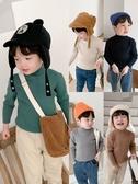 兒童毛衣棉小班男童毛衣套頭秋冬款韓版兒童半高領加厚針織衫寶寶洋氣童裝 新品