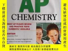 二手書博民逛書店Barron s罕見AP Chemistry, 6th Edit