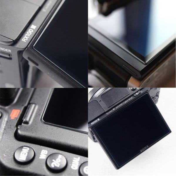(BEAGLE)鋼化玻璃螢幕保護貼 Canon EOS M200 專用-可觸控-抗指紋油汙-9H-台灣製