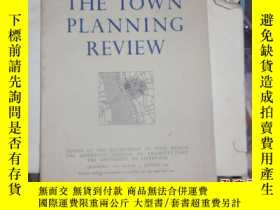 二手書博民逛書店英文版:the罕見town planning review 05