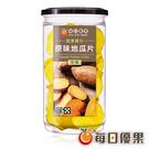 罐裝原味地瓜脆片150G 每日優果