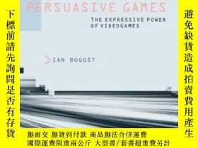 二手書博民逛書店Persuasive罕見Games: The Expressive Power Of Videogames (mi