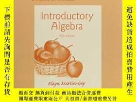 二手書博民逛書店Student s罕見Solutions Manual For Introductory Algebra-學生代數