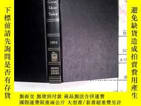 二手書博民逛書店The罕見Great Ideas Today 1994Y1679
