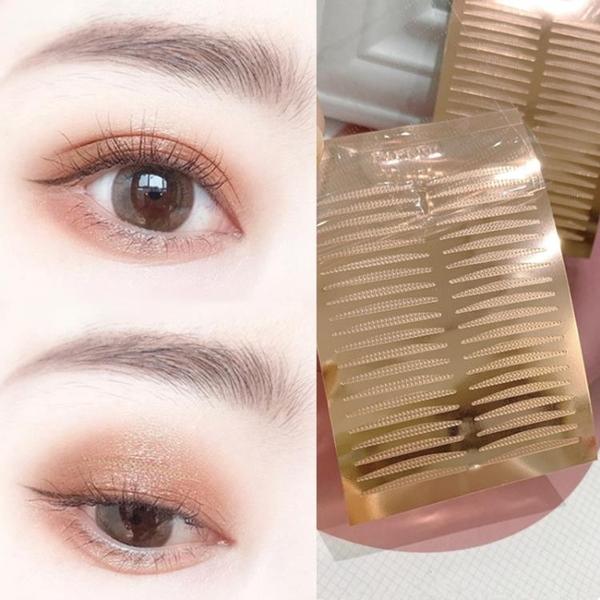 雙眼皮貼 涵貝爾雙眼皮貼腫眼泡單眼皮面內雙無痕自然隱形化妝師透明粘性強 風尚