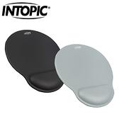 INTOPIC 廣鼎 PD-GL-027 皮革紓壓護腕滑鼠墊 灰
